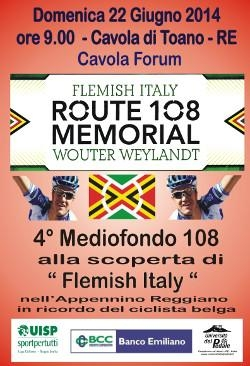 Route 108 – Memorial Wouter Weilandt