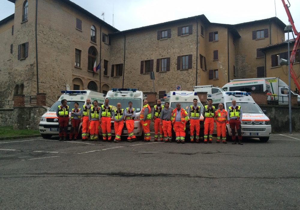 Croce Verde Castelnovo ne' Monti e il 1°Rally Matildico – Missione Compiuta