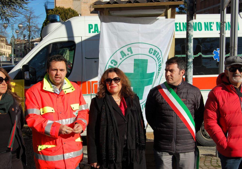 Inaugurazione Colonnina Defibrillatore a Felina