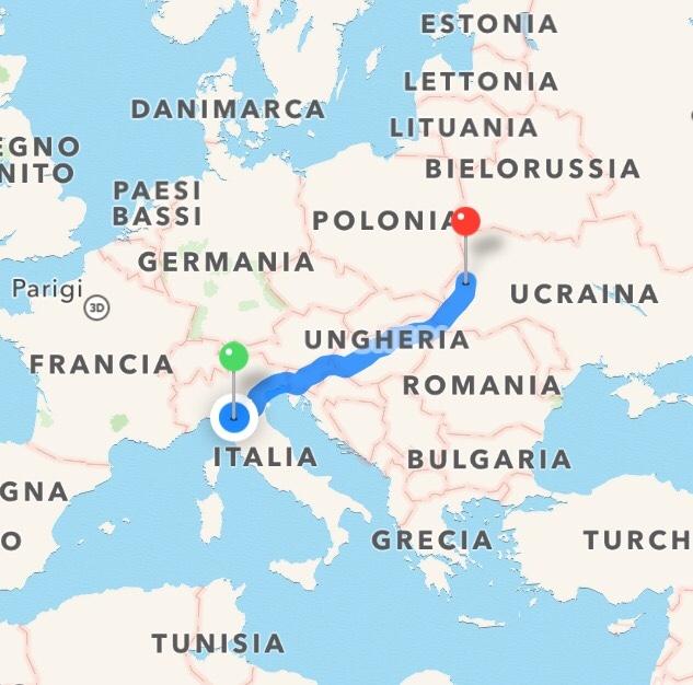 Trasporto Internazionale a Lunga Percorrenza con assistenza Medica con Ambulanza Verona – Leopoli (Ucraina)