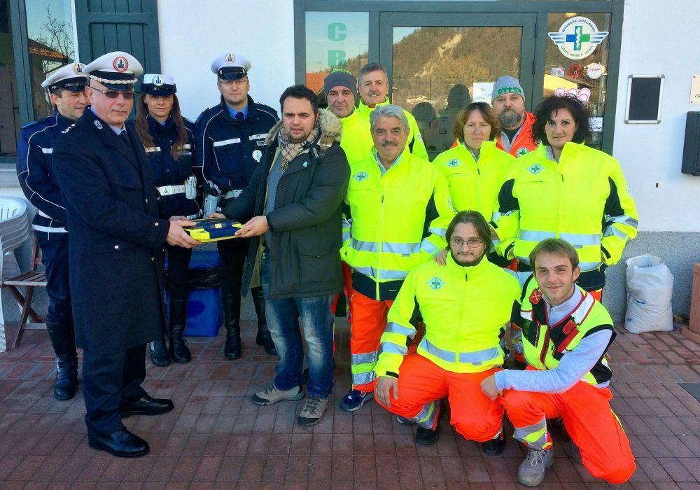 """Progetto Codice Blu: a Castelnovo ne' Monti la Croce Verde """"arruola"""" anche la Polizia Municipale"""