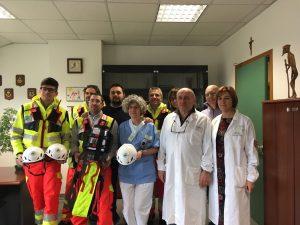 Donazione NEXT Ospedale Sant'Anna - Automedica