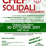 Chef Solidali, cena benefica pro Croce Verde