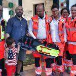 Un nuovo, innovativo dispositivo di sicurezza donato alla Croce Verde di Castelnovo Monti